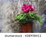 Red Flowers Digital Oil...