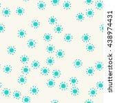 Seamless Virus Like Pattern Of...