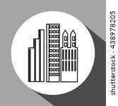 city design. building icon.