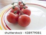 vine tomatoes | Shutterstock . vector #438979081