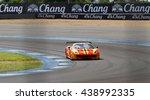 buriram  jun12  car racing on... | Shutterstock . vector #438992335