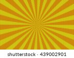 orange and yellow rays from the