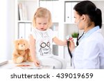 pediatrician is taking care of
