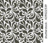 pattern seamless abstract | Shutterstock .eps vector #439022539