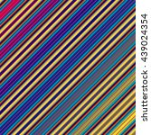 colorful striped abstract... | Shutterstock . vector #439024354