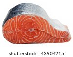 healthy eating seafood   red... | Shutterstock . vector #43904215