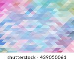 triangle multicolor abstract... | Shutterstock .eps vector #439050061