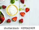 Strawberry Fruits With Jam And...