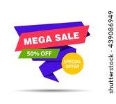 vector illustration of a mega... | Shutterstock .eps vector #439086949