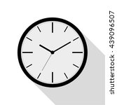 clock vector illustration | Shutterstock .eps vector #439096507