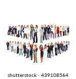 achievement idea many... | Shutterstock . vector #439108564