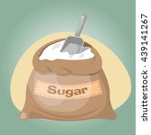 sugar bag icon | Shutterstock .eps vector #439141267