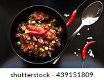 Chilli Con Carne  Black Plate....
