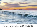 currumbin rock gold coast... | Shutterstock . vector #439164454