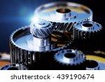 3d illustration of gear metal...   Shutterstock . vector #439190674