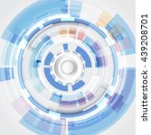 vector abstract background... | Shutterstock .eps vector #439208701