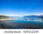 Lake Geneva Is At A Port And...