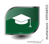 graduation hat cap icon
