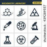 icons set premium quality of... | Shutterstock .eps vector #439289557