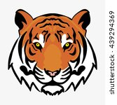 tiger   Shutterstock .eps vector #439294369