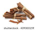 cinnamomum cassia  called...   Shutterstock . vector #439303159