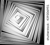 rotating squares. abstract... | Shutterstock .eps vector #439306951