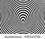 optical illusion swirl  vector | Shutterstock .eps vector #439310704