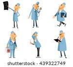 vector illustration of a six...   Shutterstock .eps vector #439322749