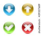 web buttons   miscellaneous   Shutterstock .eps vector #439337689