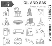 oil  gas  petrol  industry icon ... | Shutterstock .eps vector #439358371