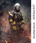 Rescue Man In Firefighter...