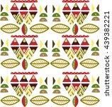 ornament repetition | Shutterstock .eps vector #439382221