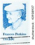 Usa   Circa 1980  A Stamp...