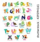 Funny Kids English Alphabet...