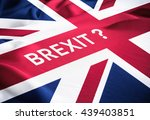 brexit uk and eu  european... | Shutterstock . vector #439403851