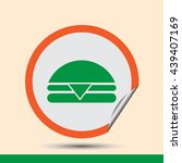 hamburger icon vector flat app...