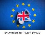 Brexit   Detail Of Paper Flag...