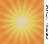 sun sunburst pattern  and... | Shutterstock .eps vector #439421035