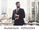 modern businessman. confident... | Shutterstock . vector #439431064
