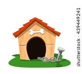 dog house 2 | Shutterstock .eps vector #439449241