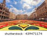 brussels  belgium   august 15 ... | Shutterstock . vector #439471174