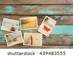 photo album remembrance and... | Shutterstock . vector #439483555