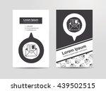 letter doodle drawing | Shutterstock .eps vector #439502515