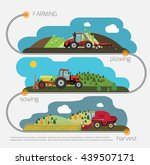 farming agriculture infographic.... | Shutterstock .eps vector #439507171