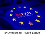 brexit referendum concept  uk ... | Shutterstock . vector #439512805