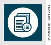 vector illustration of files... | Shutterstock .eps vector #439526461