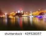 cityscape of chongqing at night ... | Shutterstock . vector #439528357