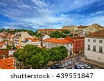 lisbon architecture  city view  ... | Shutterstock . vector #439551847