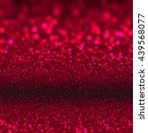 glittering red lights... | Shutterstock . vector #439568077