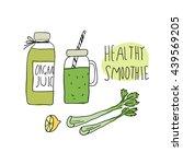 illustration of healthy... | Shutterstock .eps vector #439569205